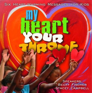 My Heart Your Throne Logo covery